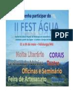 Projeto Do II Fest Água - Festival Das Água s