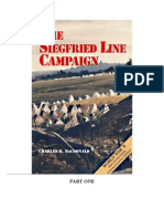 The Siegfried Line Campaign - WW2