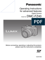 Panasonic Dmcfz40 Adv