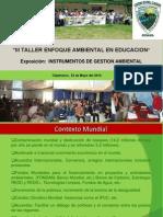1 Presentacion Educacion Ambiental
