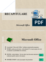 Prezentare Ms Office