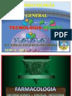 1ray 2day 3ra Sem Farmacologia Introducion