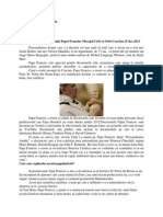Discurs Papa Francisc