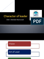 Character of Leader