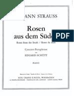 IMSLP09323-Strauss - Rosen Aus Dem S Den - Schutt - Cranz
