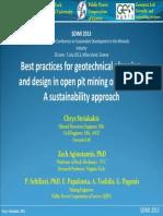 03_Bestpracticesforgeotechnicalplanning &designinopenpitminingoperations