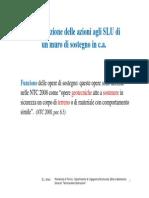 19 Tdc - Esercitazione Combinazione Azioni - Muro Di Sostegno. Polito