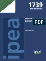 Avritzer, Leonardo. Redefiniendo Patrones de PC en Brasil