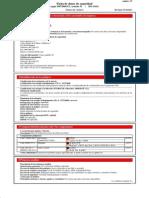 Hoja de Seguridad - FS One (Sellador Intumecente Para Barrera Anti-fuego de Alto Rendimiento - HILTI