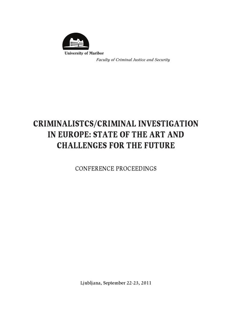 thesis thema kriminalistik