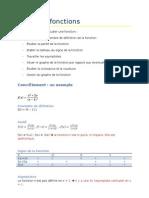 Méthode d'analyse de fonctions