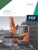 Excavadora Hidráulica DOOSAN DX35z :