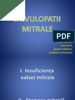 Valvulopatii Mitrale Si Pulmonare În 2003
