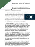 10 Razões Para Amar o Presidente Uruguaio José Pepe Mujica - FONTE, Site Revista Fórum (Por Medea Benjamin, Em Alternet Tradução Vinicius Gomes)