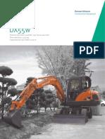 Excavadora Hidráulica DOOSAN DX55w