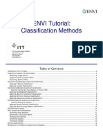Classification Methods ENVI-laura