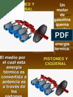 Pistones y Cigüeñal