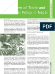 A Review of Trade and Industrial Policy in Nepal