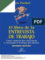 El Libro de La Entrevista de Trabajo_Luis Puchol
