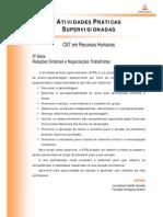 ATPS 2014 1 TRH 3 Relacoes Sindicais Negociacao Trabalhista