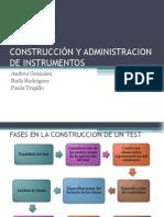 Exp Construcción de Instrumentos, Formas de Aplicación