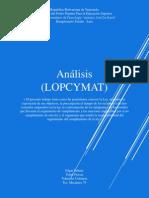 Analicis de La LOPCYMAT