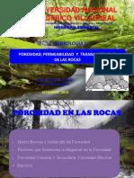 Porosidad Permeabilidad y Transmisividad de Las Rocas