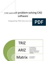 Conflinct problem solving CAD software