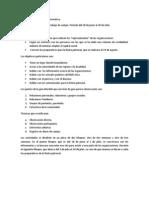 Objetivos Para La Estancia de Campo Del 28 de Junio Al 28 de Julio.