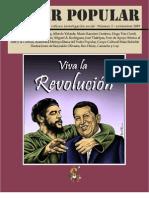 """Revista """"Poder Popular"""" 3, portada e ilustraciones de Ben Heine, textos de Alfredo Velarde, Tulio Morales, Mao Tse Tung y otros"""