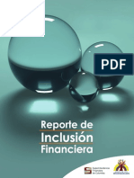 Reporte Inclusion Financiera