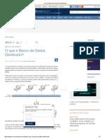 O Que é Banco de Dados Distribuído_