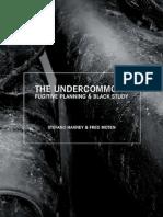 Undercommons by Moten