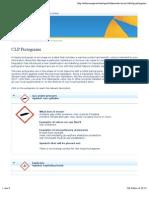 CLP Pictograms - ECHA
