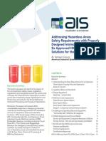 AIS White Paper on Hazardous Area Intrinsically Safe HMI and Panel PC