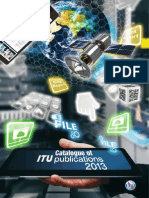 Catalogue of ITU Publication 2013