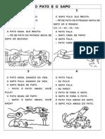 o Pato e o Sapo Ilustrado