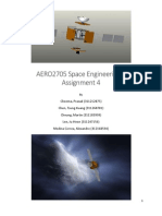 Design of a Satellite for Comet Approach
