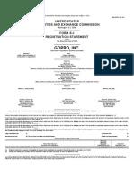 Form S-1 GoPro