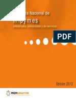 Encuesta Nacional de Mipymes Comerciales, Industriales y de Servicios