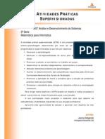 ATPS 2014 1 TADS3 Matematica Para Informatica