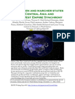 Middlemen and Marcher States in Central Asia and EastWest Empire Synchrony