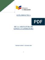 Guia Lengua y Literatura 3BGU Bloque 1 011113