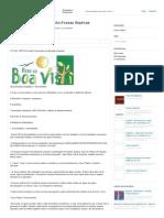 Dimensionamento-Fossas Sépticas - Fossa Séptica