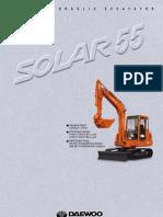 Daewoo Excavadora Hidráulica Solar CS55