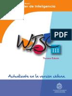 Cuadernillo Wisc III