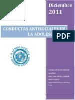 Libro Conductas Antisociales en Adol
