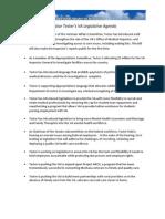 Tester's VA Legislative Agenda
