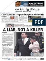 Front Page Story - Naples Daily News, 2011