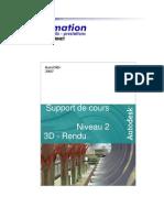 Cours Autocad 2007 - Niveau 2 - 3d Pm Formation
